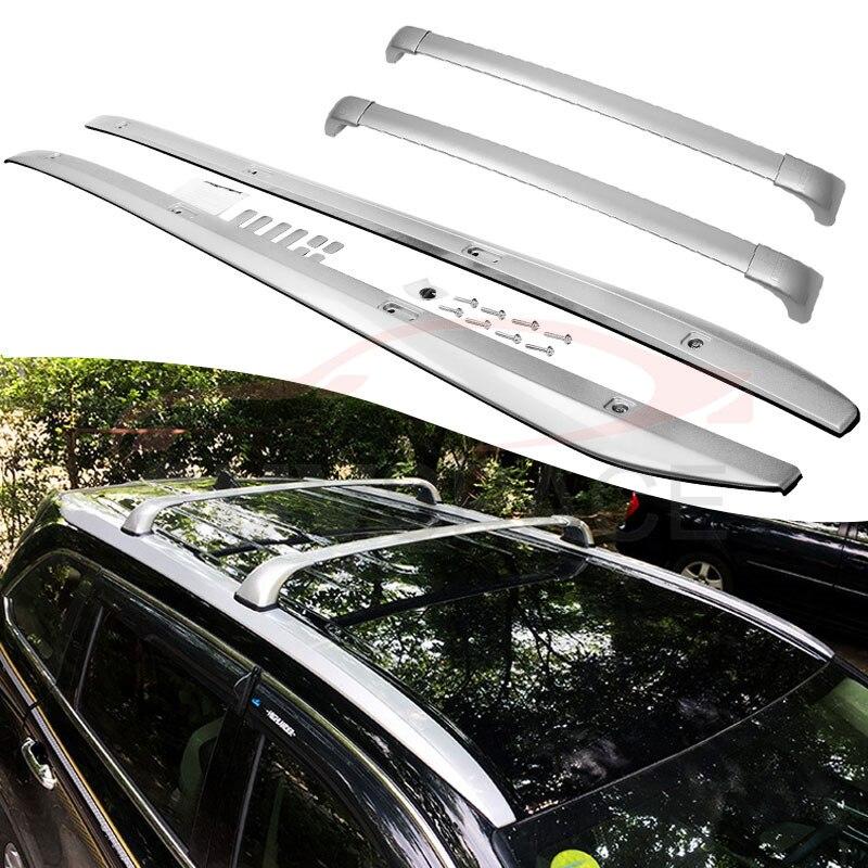 fit for toyota highlander kluger 2014 2020 oem style baggage roof rack rail cross bar crossbar 4pcs