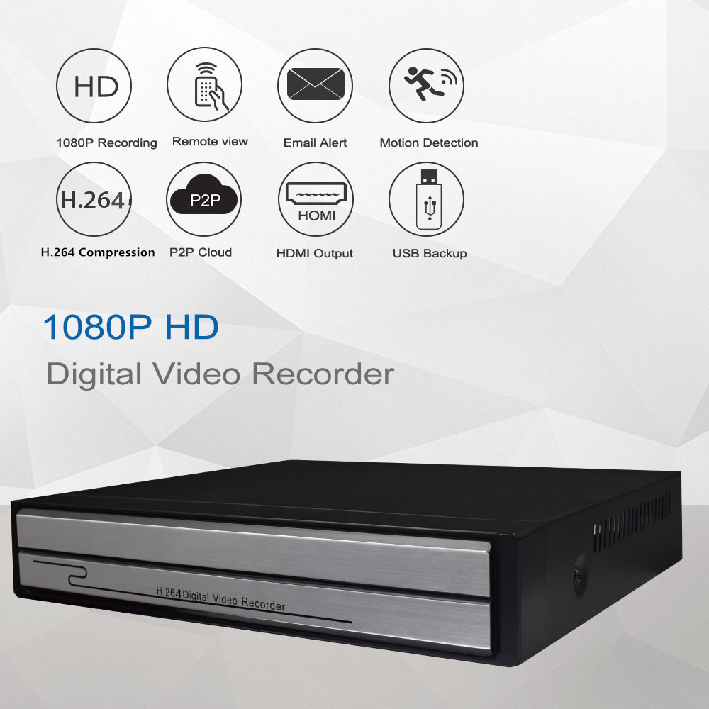 Image 5 - Keeper 4CH / 8CH NVR POE 1080P 2MP Surveillance CCTV NVR 48V PoE For H.264 IP Camera P2P ONVIF 2MP Network Video Recorder-in Surveillance Video Recorder from Security & Protection