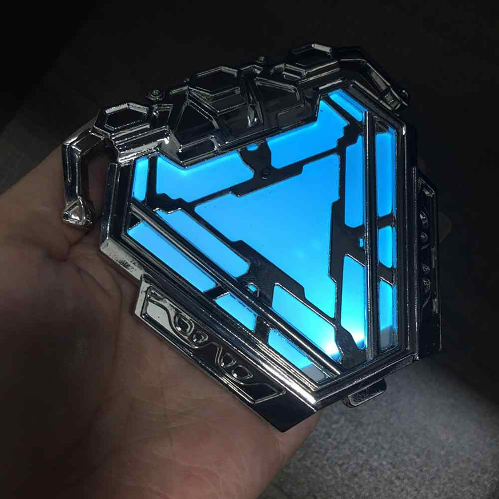 Avengers 4 Endgame Iron Man Reactor legering Borst Licht Tony Stark cosplay props accessoire Reactor badge halloween speelgoed