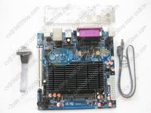 Mini itx board atom d525 mini itx industrial motherboard onboard 6 com port VGA USB lvds New board