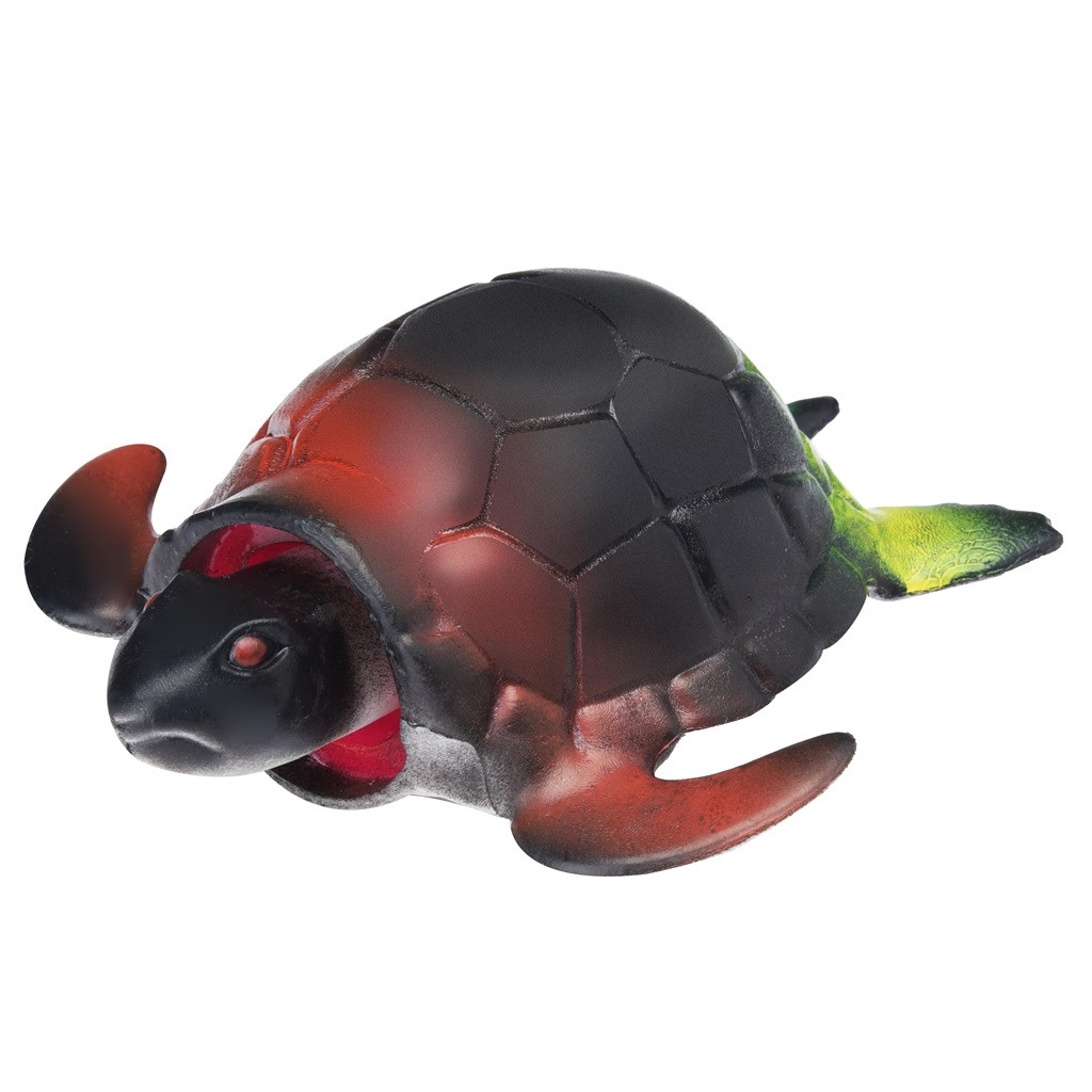 Turtle Pop Out Head if Squeeze 13cm Stress Ball (3 Colors) 13