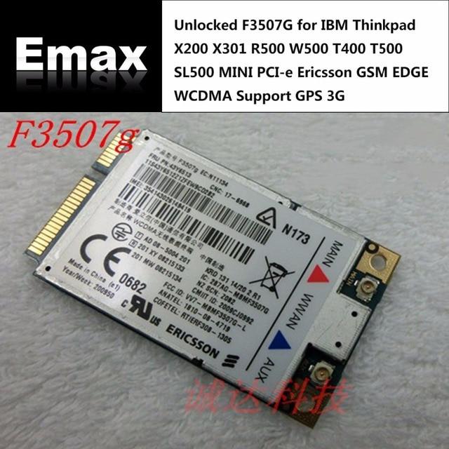 Driver: Lenovo ThinkPad T400s Ericsson WWAN
