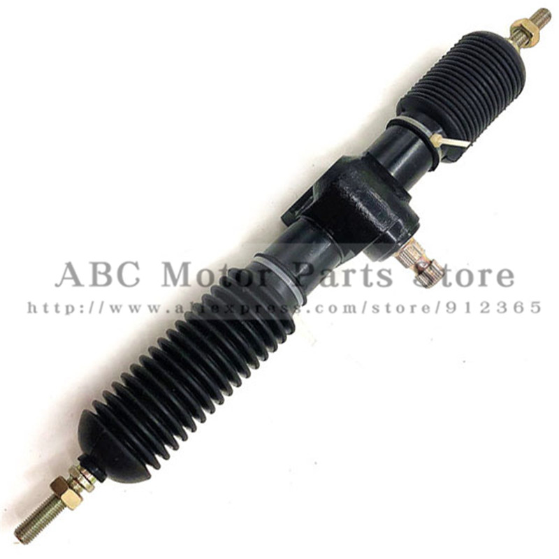 430mm M10 Full steel Power Steering Gear Rack Pinion Assy Fit For DIY China Golf Go