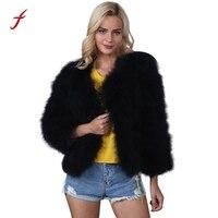 Women S Fur Coat Jacket 2017 Winter Fashion Soft Fox Faux Fur European Style Thick Coat