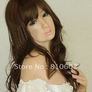 Free shippingMen's Sexy Real Japan Girl Inflatable Semi-solid Silicone Love doll/Sex dolls   #yazi374
