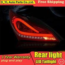 D-YL стайлинга автомобилей Аксессуары для hyundai rohens-купе светодиодный задние фонари 2009- купе фонарь задний фонарь DRL+ Тормозная+ Park+ сигнала