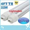 4ft Led Tube Light R17D T8 22W 2400 Lumens SMD 2835 Led Fluorescent Tubes Bulbs Light AC 85-265V