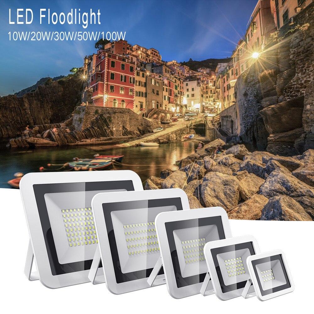 Hot Sell 220V 10W 20W Waterproof IP66 LED Flood Light Floodlight Landscape Outdoor Flood Light Lighting Lamp Square Garden Spot