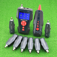 New NF 8601W Multi functional Network Cable Tester LCD Cable no with Length Tester Breakpoint Tester English Version