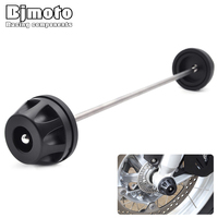 BJmoto Motorcycle R1200GS ADV 2014 2016 Front Axle Fork Wheel Protector Crash Sliders For BMW R1200GS