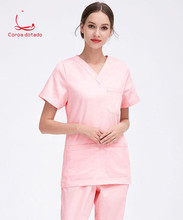 Mens and womens hand-washing clothes pure cotton isolation room brush hand beauty hospital uniform