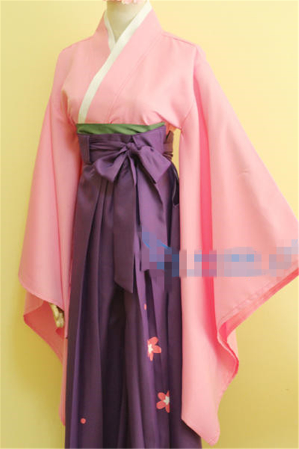 New Clothing Hot Anime Card Captor Sakuran Fashion Uniform Cosplay Costume Customized Full Set