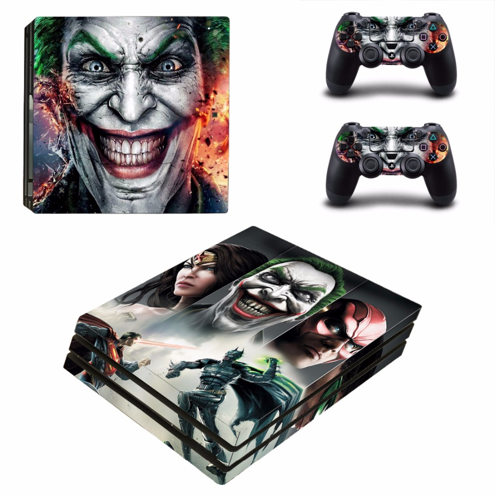 The Joker Smile Waterproof Dustproof Skin Sticker Cover ...