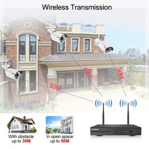 Image 5 - Techege 8CH 1080P NVR Audio zestaw do nadzorowania Plug and Play 8 sztuk 2MP HD bezprzewodowy wodoodporna Night Vision bezpieczeństwo System CCTV