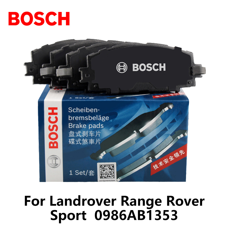 Galleria fotografica 4pieces/set <font><b>Bosch</b></font> Car Front Brake Pads For Landrover Range Rover Sport 0986AB1353