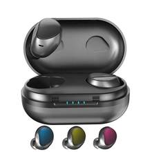 U10 TWS Wireless Earbuds Bluetooth headset 5.0 IPX6 Waterproof Earphones 5D Stereo PK redmi airdots Meizu Pop 2(China)