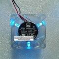 Nuevo y original 4 cm 4020 transparente LLEVÓ la lámpara del ventilador 12 V 0.15A DASA0420R2M