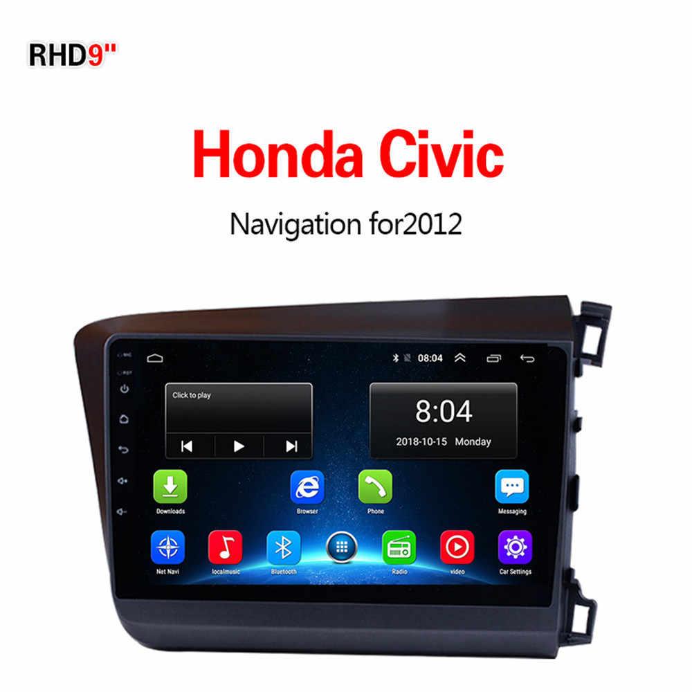 Lionet gps навигация для автомобиля Honda CIVIC 2012 9 дюймов RH1004X