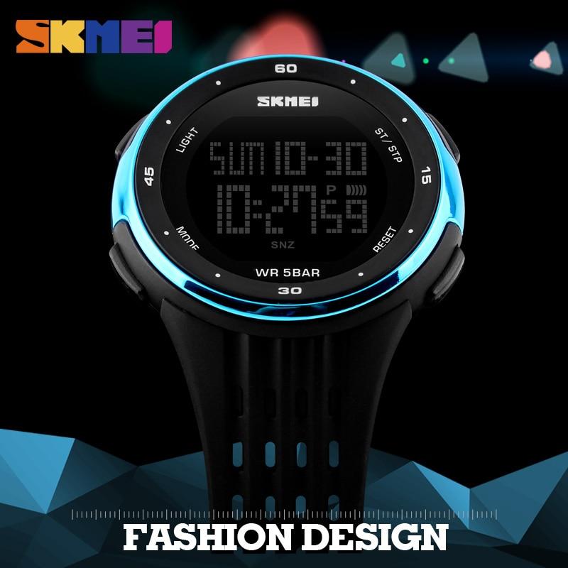 Hot Brand SKMEI New Sport Watch Women Style Waterproof LED Sports Military Watches Women's Digital Watch Reloj Para Hombre 2017 все цены