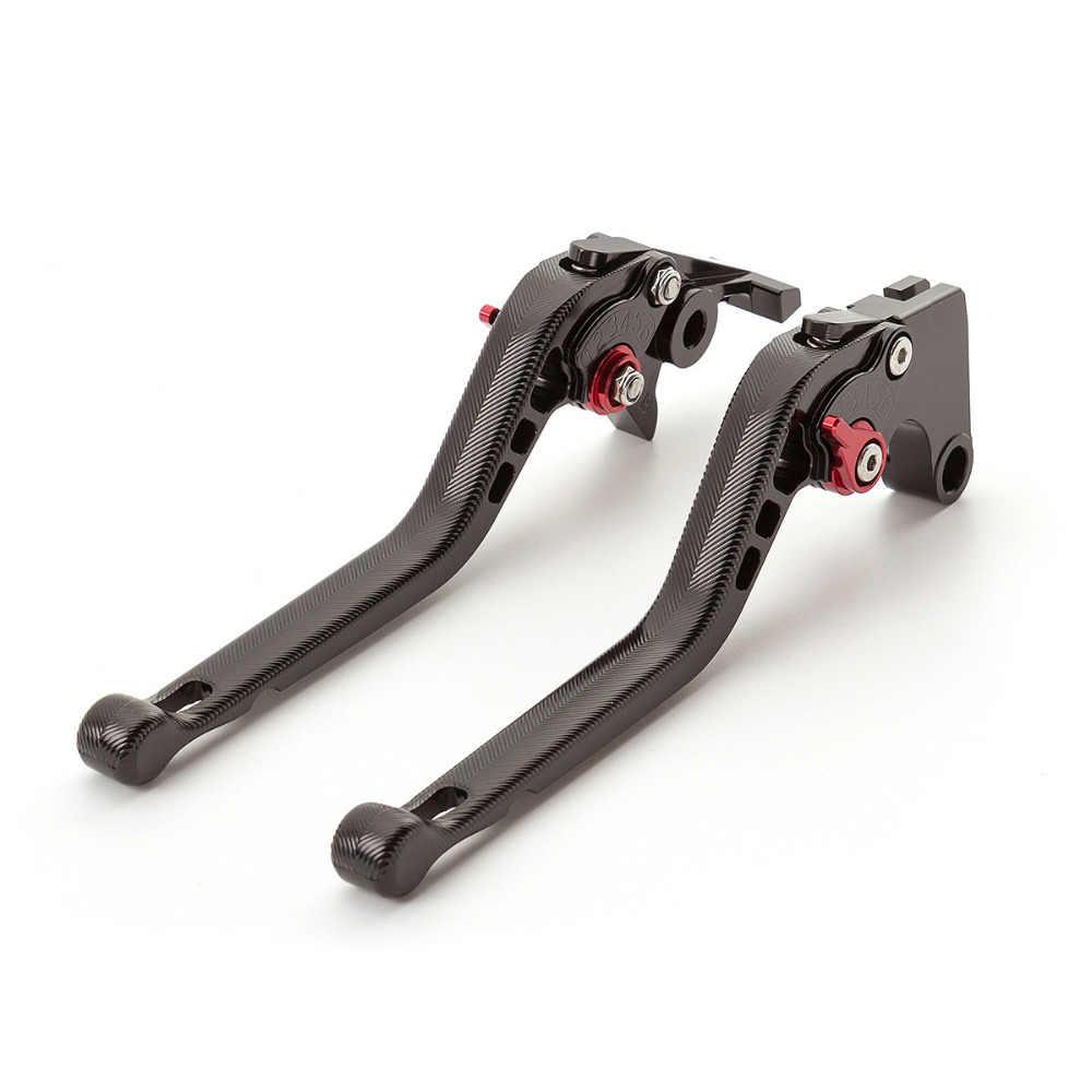 CNC aluminium regulowane 3D motocyklowe dźwignie hamulcowe długie i krótkie dla Yamaha FZ 07 MT 07 FZ07 MT07 2014-2018 2014 2015