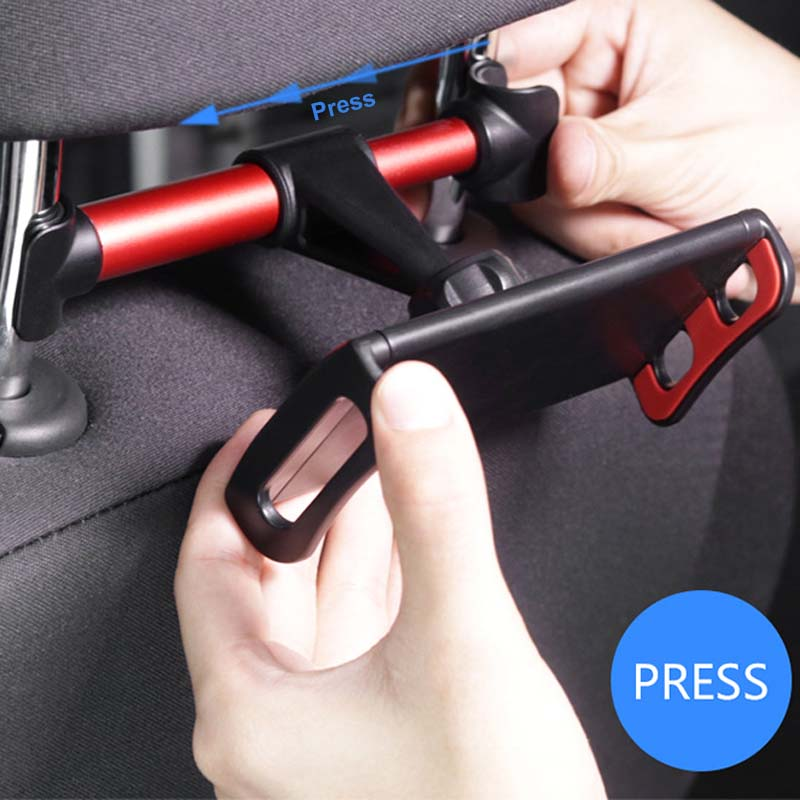 Universal 4-11'' Onboard Tablet Car Holder For iPad 2 3 4 Mini Air 1 2 3 4 Pro Back Seat Holder Stand Tablet Accessories in Car