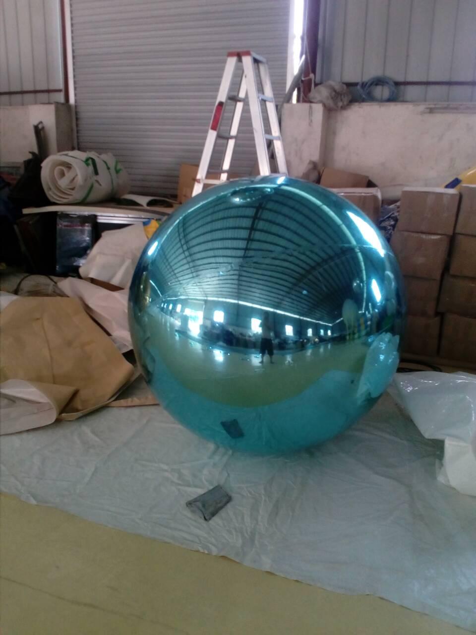 Թեժ վաճառք հսկա փչովի գնդիկ գովազդի համար Հարմարեցված դեկորացիայի հայելիի գնդակը Նոր ժամանում ռեֆլեկտիվ փչովի հայելային գնդակ