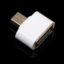 New and hot! White Micro USB Male to USB 2.0 Female Adapter OTG Converter for Android Tablet samsung Galaxy S3 S4 huawei honor 6