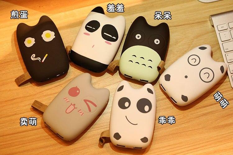 imágenes para Nueva totoro gato de la historieta 9000 mah banco de alimentación universal cargador portátil fuente de alimentación móvil para iphone6 6 s samsung s5 s6