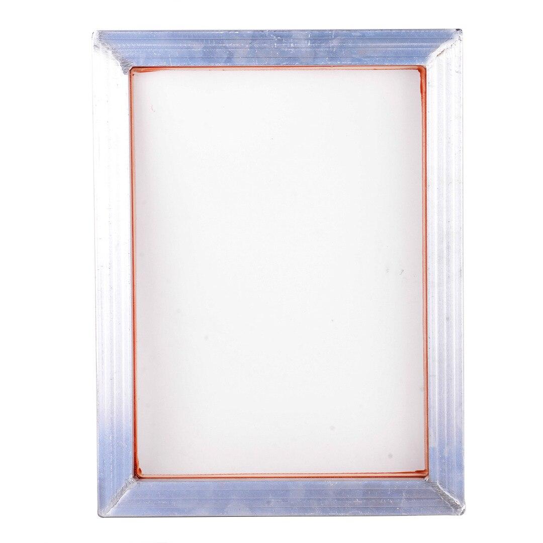 A3 serigrafía aluminio Marcos 31*41 cm con blanco 43 t Impresión de seda malla de poliéster de alta precisión placas de circuito impreso