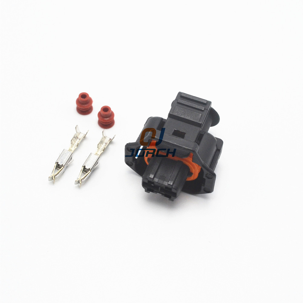 10 Sets Kits 2 Way Pin 3.5 Series Female Boschs Auto Connector 936059-1 For Auto,E-Bike,boat,LCD,LED,truck Ect