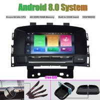 Octa Core Android 8.0 CAR DVD Player for OPEL ASTRA J 2010 2012 GPS navigation Car multimedia player