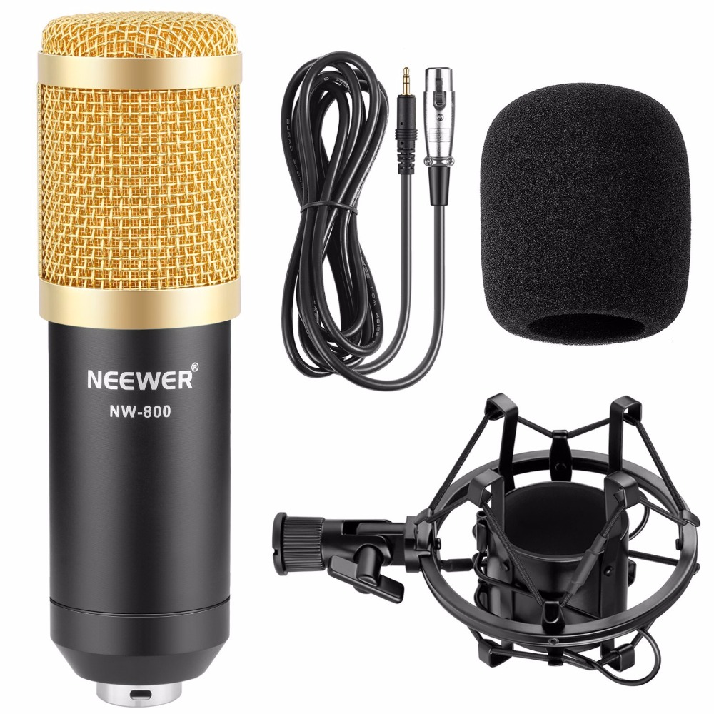 Neewer NW-800 Professional Studio Broadcasting and Recording Microphone Set