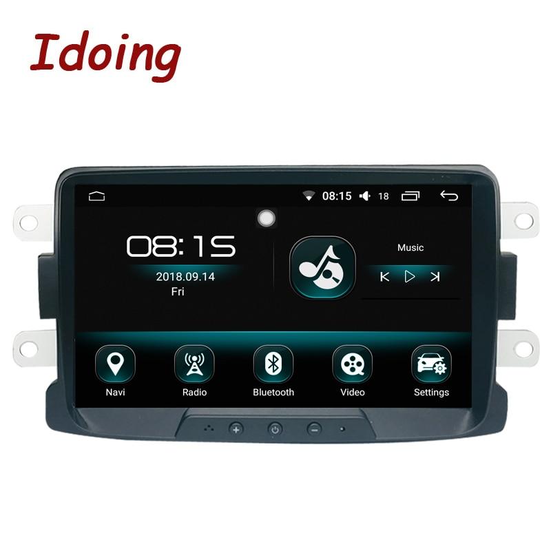 Je Fais 1Din 8 AUTORADIO GPS lecteur Multimédia Android8.0For renault DUSTER LADA 2014-2016 IPS écran 4G + 64G octa Core Navigation