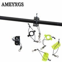 12/24 Uds arquería arco de plástico de pesca Slider ID 9mm Flecha de seguridad Slide para flechas de protección accesorios de caza al aire libre