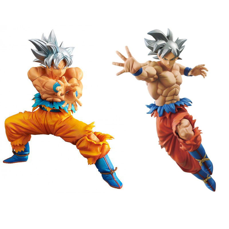 Dragon Ball Super DXF New form Ultra Instinct Goku Jiren 18cm PVC Action Toy Figures Goods in stock Free shipping цена