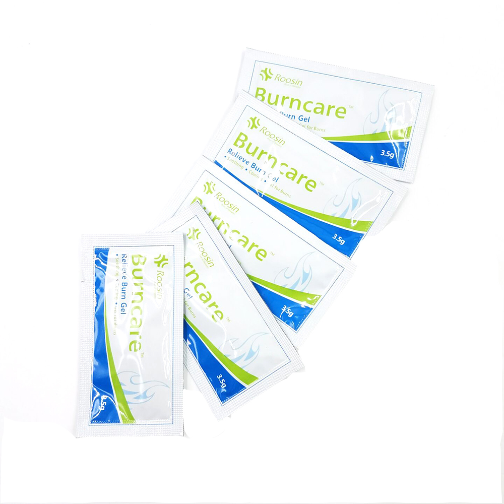 5pcs/lot Gel For Burns First Aid Kit Accessories Pad First Aid Kit Dressing Cooling,Soothing Burn Cream Scalds Wound Care