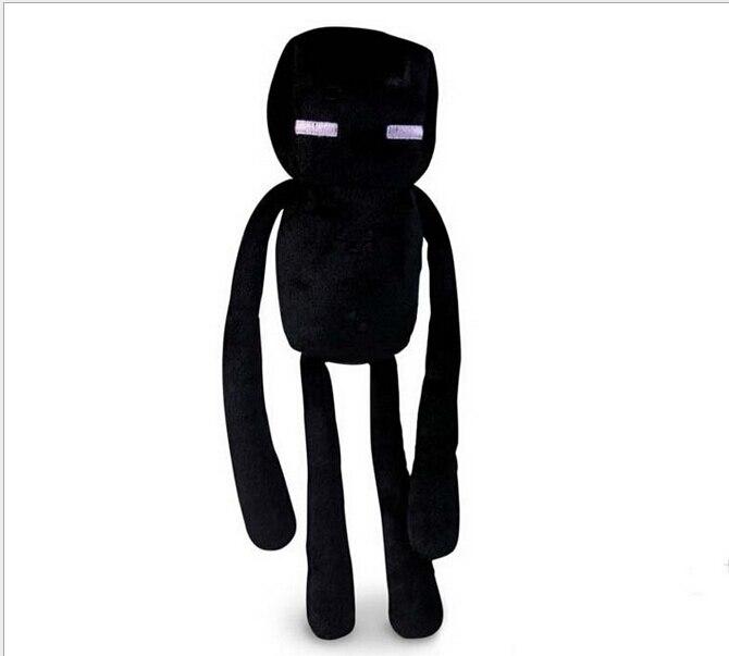 My World Minecraft Siyah Enderman Peluş Oyuncak Oyunu Rolleri Modeli Karikatür hayvan Doll Çocuk çocuk Hediye Yüksek Kalite