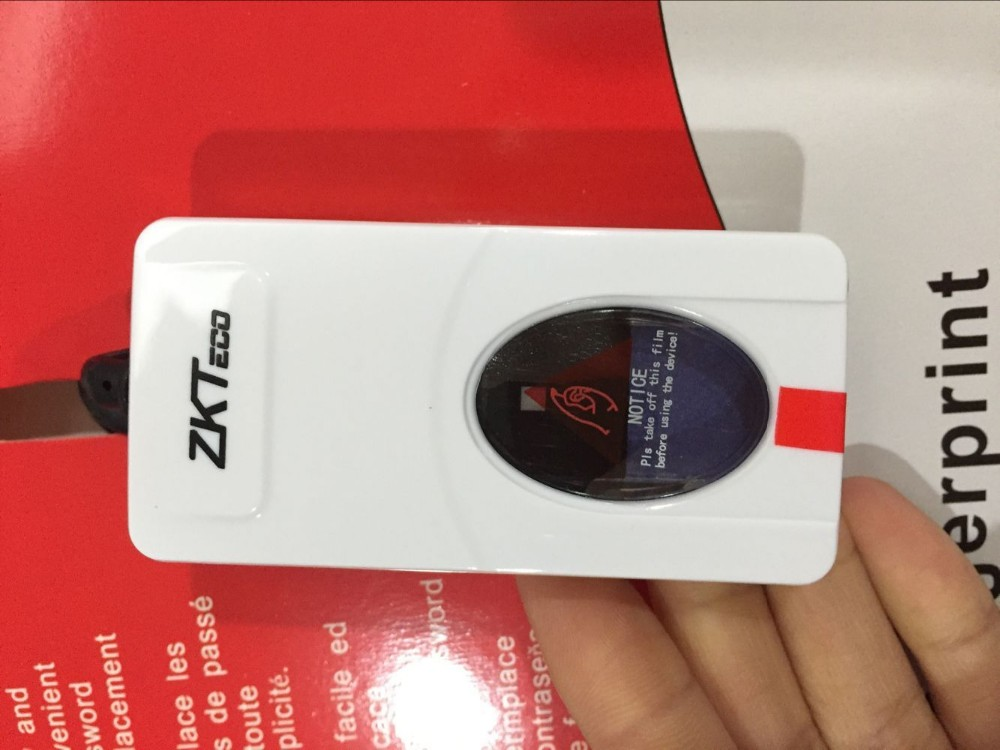 ZKTeco ZK9000 Digital Persona USB Bio Fingerprint Reader Sensor for Computer PC Home Office Free SDK Same URU4500