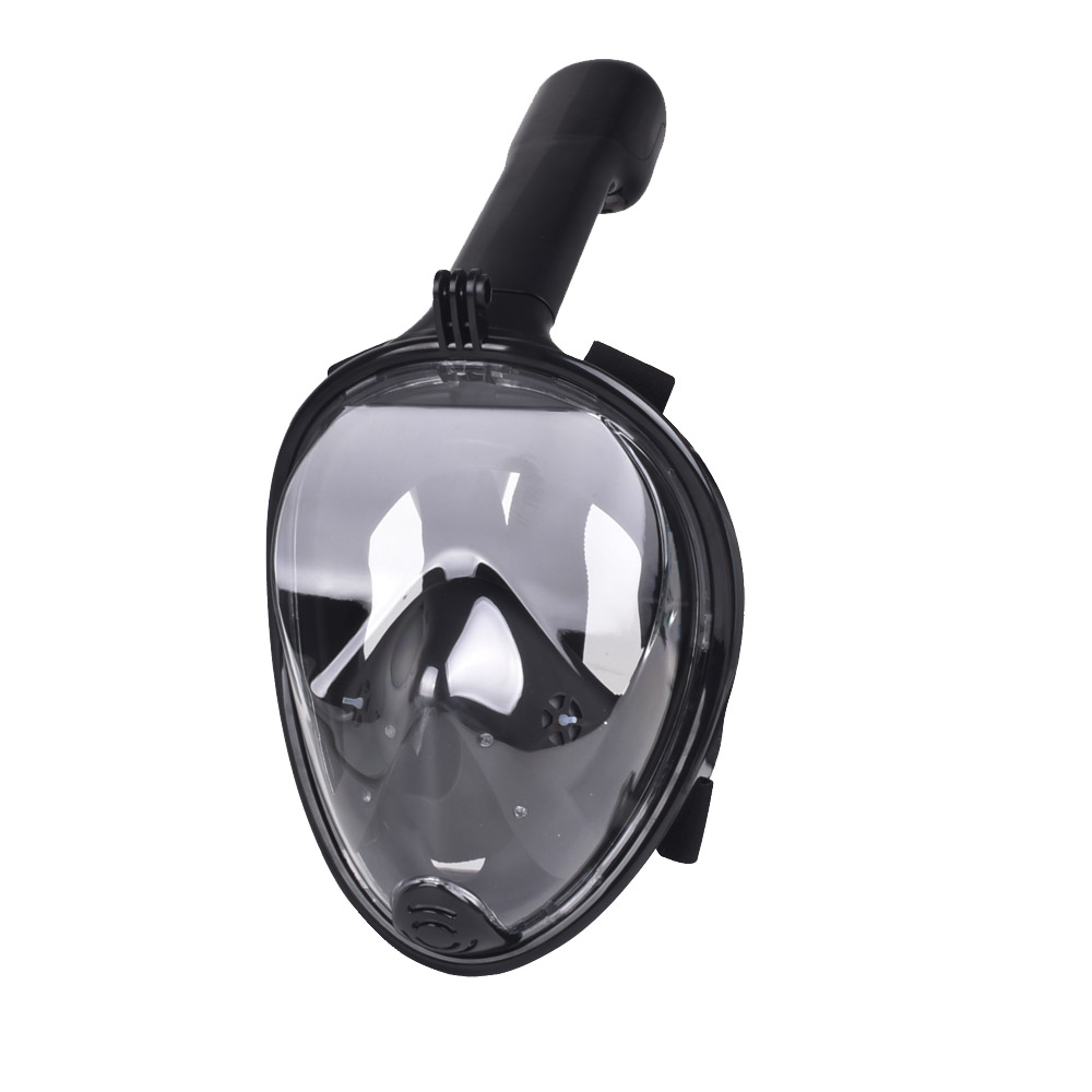 Full Face Snorkeling Mask Scuba Mergulho Diving Snorkel Mask Set 180 Degree View For Gopro Go Pro Camera Swimming Masque