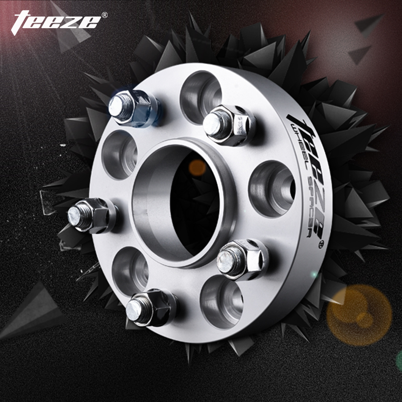 TEEZE Car-Styling Aluminum Alloy 7075-T6 Wheel Spacers 5x120 for E39 Center Bore 74 1mm 20mm Adapters Shims de Rueda 1 pieces