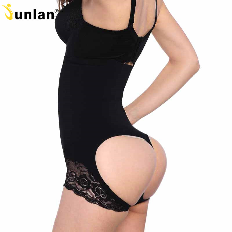 Aliceno Sexy Hohe Taille Frauen Kolben-heber Shaper Bauch Steuer Höschen Shapewear Thongs Unterwäsche Taille Trainer Körper Shaper Control-slip