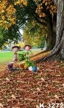 Baby fotografie Photographer Backdrops Autumn Scenery Yellow Leaves Shoot Photo Backdrops For Children/Kids Portrait Backdrops