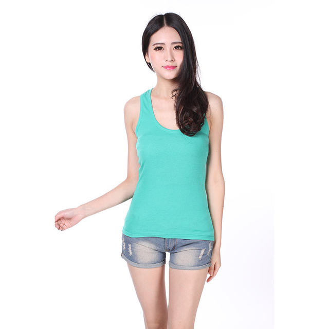 02d0f1473a7ff Summer Fitness Tank Tops Sexy Quick Dry T Shirt Women Casual Shirts Vest  Polyester Ladies Sleeveless