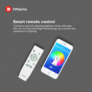 Image 4 - Smart  Music LED ceiling Lights RGB Dimmable  36W 52W 72W APP Remote control Modern Bluetooth light  bedroom lamps ceiling lamp