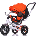 Children tricycle can sit can lie wheelbarrow baby baby cart stroller bike