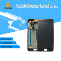 Axisinternational Lcd Screen Display Touch Panel Digitizer With Frame For 5 0 Meizu M3 Mini Black