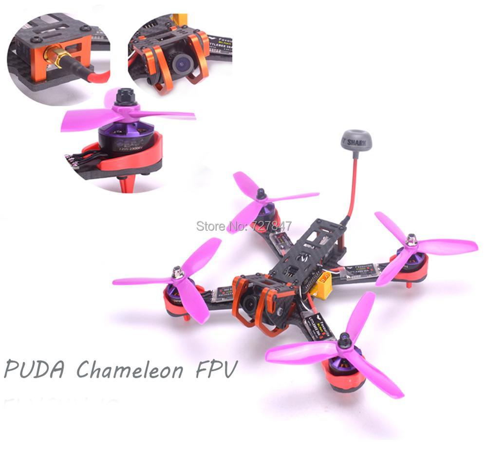 NEW Chameleon 220 220mm FPV Frame Quadcopter Kit 2205 2300kv Motor Littlebee 30A BLHeli s ESC