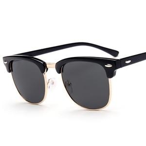 Image 2 - SWOKENCE reçete gözlük SPH  0.5 to  6.0 miyopi için erkek kadın moda polarize güneş gözlüğü ile diyoptri Shortsighted WP015