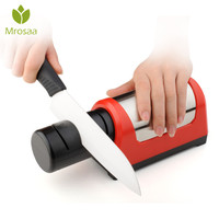 Professional Quiet Electric Knife Sharpener 2 Stage 600 1000 girt Grinder whetstone Kitchen Diamond Sharpening Stone w/ EU plug