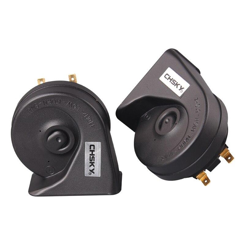 Chsky автомобильный клаксон Улитка Тип звуковой сигнал для Infiniti JX35 2012 2013 12 V громкость 110-129db Авто Рог длительный срок службы высокая низкая клаксон